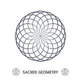 sacred geometry symbol illustration