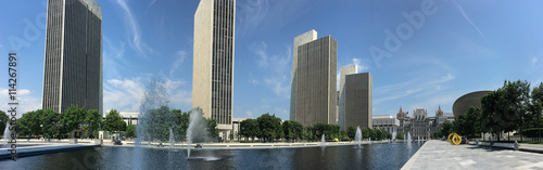 Foto op Aluminium New York Panorama of State legislature building in Albany, New York