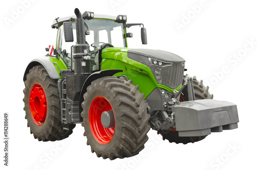 Poster Agricultural tractor