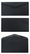 Three Views Of Black Envelope
