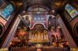 Interior of the Trinity Church in Boston, Massachusetts