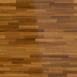 Dark wood parquet floor, background - 114307811