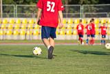 Na boisku piłkarskim