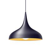 Pendant light lamp vector illustration. - 114358805