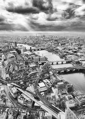London skyline, Black and White © katy_89