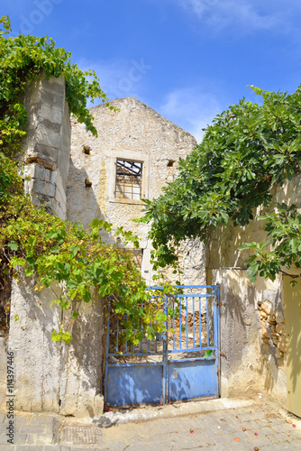 Abandoned building in Hersonissos.