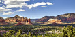 Scenic Overlook of the Town of Sedona Arizona