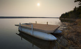 Morning boat