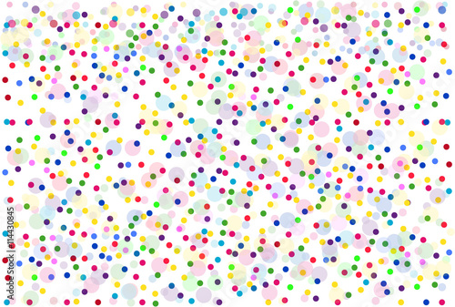 Materiał do szycia Background of colorful dots.