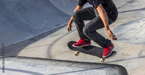 Fotobehang Skateboard Skatista.