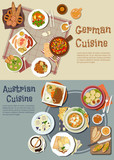 German and austrian hearty and comfort food icon
