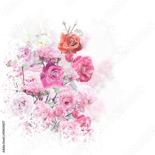 akwarela-kwiaty-rozy