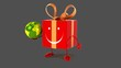Постер, плакат: Fun gift Digital animation