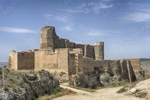 Castillo de Ayub en el municipio de Calatayud, Zaragoza
