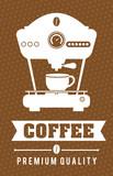 Coffee digital design, vector illustration eps 10.