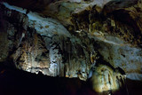 The karst cave in Chatyr-Dah mountain in Crimea