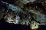 The karst cave in Chatyr-Dah mountain in Crimea