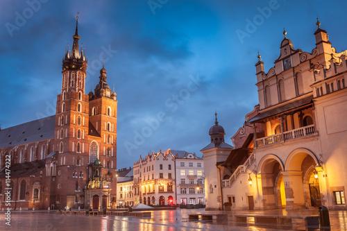 Foto op Plexiglas Krakau Krakow Market Square