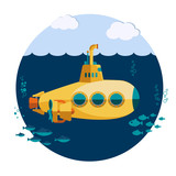 Yellow Submarine undersea