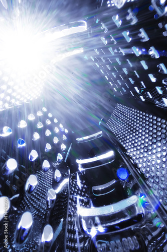 Foto op Canvas universe space grater abstract