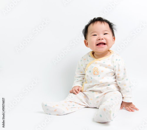 fototapeta na ścianę Asian baby girl