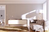 Wohnzimmer sonnig - 114588601