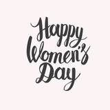 Happy Womens Day letterrring