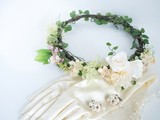 Floral crown and accessories