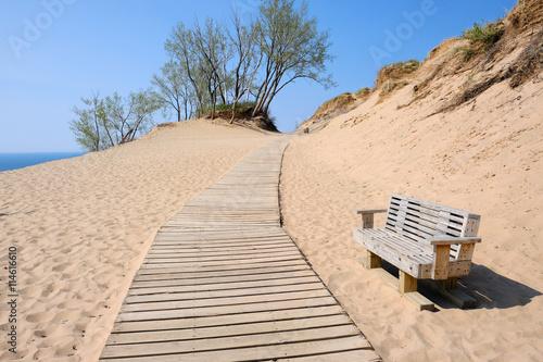 mata magnetyczna Sleeping Bear Dunes National Lakeshore