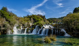 Fototapety KRKA waterfall in Croatia