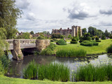 View of Hever Castle and Grounds in Hever Kent