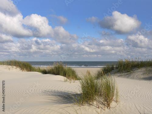 Papiers peints La Mer du Nord Strand und Düne der ostfriesischen Insel Juist