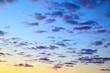 Sky before sunrise
