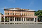 Reggio Emilia, piazza della Vittoria e teatro dell