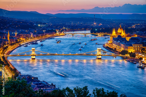 Papiers peints Budapest View of Budapest City