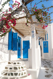 Fototapety Traditional greek house on Mykonos island, Greece