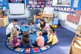 Fototapety Story Time at Nursery