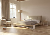 Country house bedroom