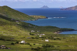 Scenic coastline of the 'Ring of Kerry' - Ireland poster