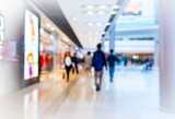 Fototapety Bokeh Shopping Mall  Background