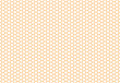 Honeycomb seamless background. Simple seamless pattern of bees' honeycomb. Illustration. Vector. Geometric print. - 114862058