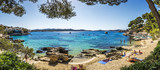 Fototapety Cala Fornells beach in Majorca