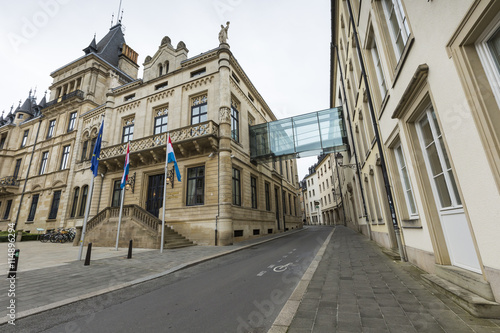 Foto op Canvas Milan Grand Ducal Palace in Luxembourg City