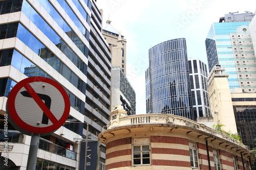 Poster Wyndham Street, Hong Kong