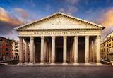 Pantheon at night, Rome, Italy - 114925248