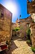 Town of Pirovac old stone street