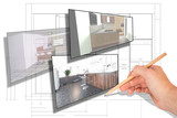 Fototapety Moderne Küchenplanung