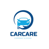 Auto care logo,car care symbol.