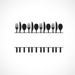 affiche couvert,restaurant-cuisine