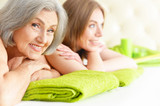 Beautiful Women Getting Spa Treatment. - 114988644
